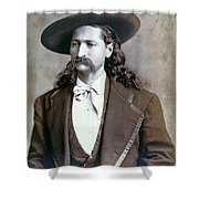 Wild Bill Hickok  1873 Shower Curtain