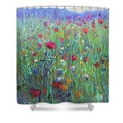 Wild Meadow Shower Curtain