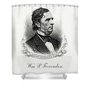 William P. Fessenden Shower Curtain