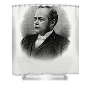 William Windom Shower Curtain