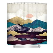 Wine Lake Shower Curtain