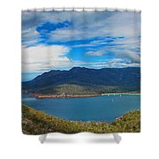 Wineglass Bay Shower Curtain