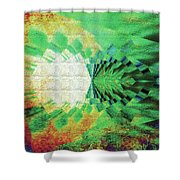 Winged Migration Shower Curtain