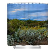 Winter In The Valley  H1933 Shower Curtain by Mark Myhaver