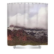 Winter's Blanket Shower Curtain by Rick Furmanek