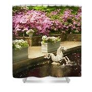 Winterthur Spring Pond Shower Curtain