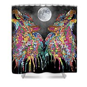 Wolf Song Shower Curtain by Mark Taylor