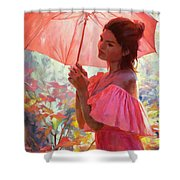 Woodland Dreams Shower Curtain by Steve Henderson