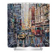 Workday II Shower Curtain
