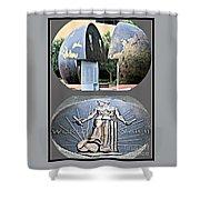 World War 2 Memorial Savannah Shower Curtain