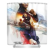 xXx Return of Xander Cage Shower Curtain