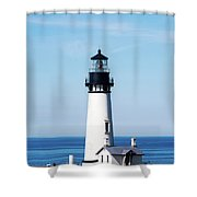 Yaquina Head Lighthouse 101618 Shower Curtain