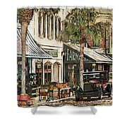 Ybor City Movie Set Shower Curtain