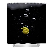 Yellow Shower Curtain by Eric Christopher Jackson