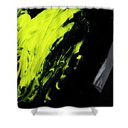 Yellow, No.2 Shower Curtain by Eric Christopher Jackson