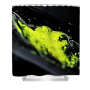 Yellow, No.3 Shower Curtain by Eric Christopher Jackson