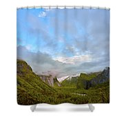 Yosemite On A Good Day Shower Curtain