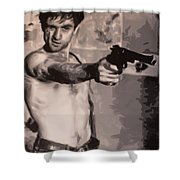 You Talkin To Me? Shower Curtain