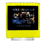 Your Friends At Minnamoolka Station Shower Curtain