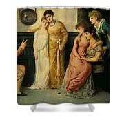 Youth Relating Tales  Shower Curtain