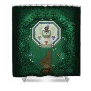 Zelda Mastersword Shower Curtain