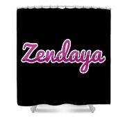 Zendaya #zendaya Shower Curtain