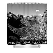 Zion Nationa Park Utah Shower Curtain