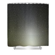 Zodiacal Light Seen From Paranal Shower Curtain