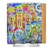 Sisterhood Of The Divine Feminine Shower Curtain For Sale By Lila