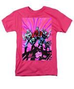 Cosmic Guardians Of The Galaxy 2 Men's T-Shirt  (Regular Fit)
