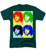 The Doors And Jimmy Men's T-Shirt  (Regular Fit) by Robert Margetts
