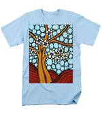 The Loving Tree Men's T-Shirt  (Regular Fit) by Sharon Cummings