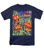 Fish Tales IIi Men's T-Shirt  (Regular Fit)