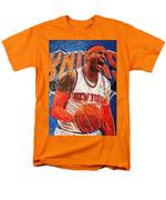 Carmelo Anthony Men's T-Shirt  (Regular Fit) by Taylan Apukovska