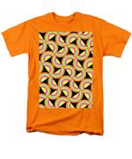 Psychedelic Squares Men's T-Shirt  (Regular Fit) by Louisa Knight