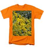 A Flower That Bees Prefer Men's T-Shirt  (Regular Fit) by Guy Ricketts