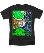 A Curious Cat Men's T-Shirt  (Regular Fit)