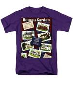 A House And Garden Cover Of Houses Men's T-Shirt  (Regular Fit)