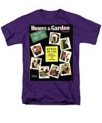 A House And Garden Cover Of Renovation Men's T-Shirt  (Regular Fit)