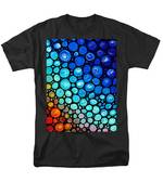 Abstract 2 Men's T-Shirt  (Regular Fit) by Sharon Cummings