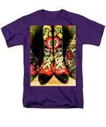 Fancy Boots Men's T-Shirt  (Regular Fit)
