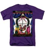 House & Garden Cover Illustration Of Christmas Men's T-Shirt  (Regular Fit)