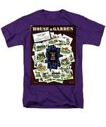 House And Garden Cover Featuring A Collage Men's T-Shirt  (Regular Fit)