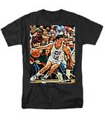 John Stockton Men's T-Shirt  (Regular Fit) by Florian Rodarte