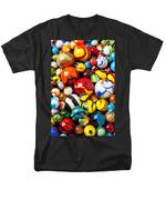 Pile Of Marbles Men's T-Shirt  (Regular Fit) by Garry Gay