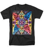 Worldly Abundance Men's T-Shirt  (Regular Fit) by Teal Eye  Print Store