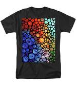Abstract 1 Men's T-Shirt  (Regular Fit) by Sharon Cummings