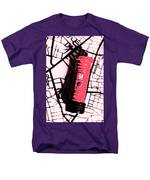 Pop Art Pillar Post Box Men's T-Shirt  (Regular Fit)