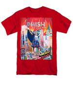 Fishman In Vegas Men's T-Shirt  (Regular Fit) by Joshua Morton