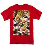 Shell Background Men's T-Shirt  (Regular Fit) by Carlos Caetano